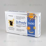 Picture of PHARMA NORD D-PEARLS 1600, 40 mcg, 80 kapsulių