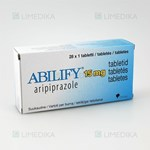 Picture of ABILIFY, 15 mg, tabletės, N28