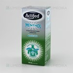 Picture of Actifed Menthol 20mg/ml geriamasis tirpalas 150ml