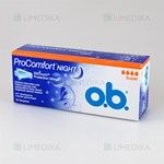 Picture of O.B. PRO COMFORT NIGHT SUPER, tamponai, 16 vnt.