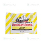 Picture of FISHERMAN'S FRIEND, becukrės, citrinos skonio, pastilės, 25 g