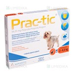 Picture of PRAC-TIC 56,25mg  2-4,5kg N3 (Elanco)