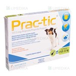 Picture of PRAC-TIC 137,5mg 4,5-11kg N3 (Elanco)