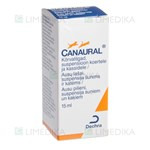 Picture of Canaural ausų lašai 15ml (Dechra)