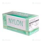 Picture of Siūlai NYLON vetsuture (USP 0) 90cm. pj. 3/8 30mm N12 (Noevia SAS)