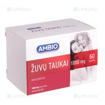 Picture of AMBIO ŽUVŲ TAUKAI, 1000 mg, 60 kapsulių