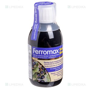 Picture of HANKINTATUKKU FERROMAX TONIC STRONG, tirpalas, 250 ml