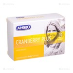 Picture of Ambio Cranberry Plus tabletės N20