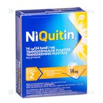Picture of NIQUITIN, 14 mg/24 val., transderminis pleistras, N7