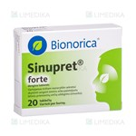Picture of SINUPRET FORTE, dengtos tabletės, N20