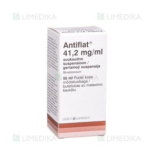 Picture of ANTIFLAT, 41,2 mg/ml, geriamoji suspensija, 50 ml