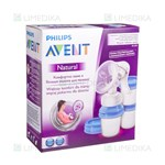 "Picture of PHILIPS AVENT, rankinis pientraukis ""Natural"" su Via indeliais, SCF330/13"