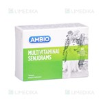 Picture of AMBIO MULTIVITAMINAI SENJORAMS, 60 tablečių