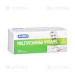 Picture of AMBIO MULTIVITAMINAI VYRAMS, 60 tablečių