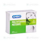 Picture of AMBIO MULTIVITAMINAI MOTERIMS, 60 tablečių