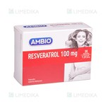 Picture of AMBIO RESVERATROL, 100 mg, 30 kapsulių