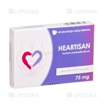 Picture of HEARTISAN, 75 mg, skrandyje neirios tabletės, N60