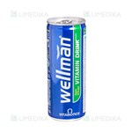 Picture of WELLMAN DRINK, gėrimas, 250 ml