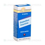 Picture of DIABETIKER VITAMINE, 30 tablečių