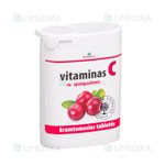 Picture of MEDICATA, vitaminas C su spanguolėmis, 50 mg, 50 tablečių
