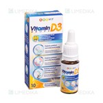 Picture of ABC VIT VITAMIN D3, su lašintuvu, 10 ml