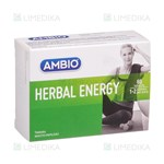 Picture of AMBIO HERBAL ENERGY, 60 tablečių
