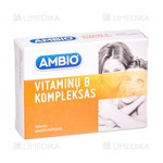 Picture of AMBIO VITAMINŲ B KOMPLEKSAS, 60 tablečių