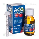 Picture of ACC, 20 mg/ml, geriamasis tirpalas, 100 ml