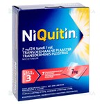 Picture of NIQUITIN, 7 mg/24 val., transderminis pleistras, N7