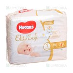 Picture of HUGGIES ELITE SOFT, sauskelnės 2 - 5 kg, 26 vnt.