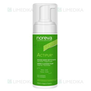 Picture of NOREVA ACTIPUR, valomosios veido putos, 150 ml