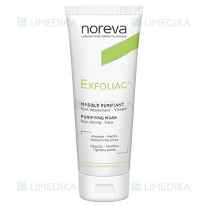 Picture of NOREVA EXFOLIAC, kaukė valanti poras, 50 ml