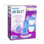 Picture of PHILIPS AVENT, indeliai Via su dangteliais, SCF618/10, 180 ml, 10 vnt.