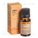 Picture of JODAS BP 5%, odos tirpalas, 10 ml