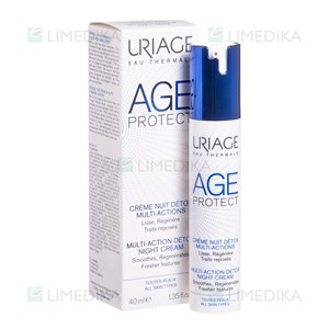 Picture of URIAGE AGE PROTECT MULTI-ACTION DETOX, naktinis kremas, 40 ml