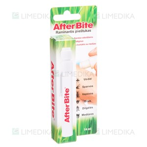 Picture of AFTER BITE, repelentas, pieštukas po vabzdžių įkandimo, 14 ml