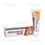 Picture of BLEND-A-DENT PLUS DUOPOWER, burnos dantų protezų lipnus kremas, 40 g