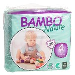 Picture of BAMBO NATURE MAXI, sauskelnės, 7 - 18 kg, 30 vnt.