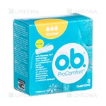 Picture of O.B. PRO COMFORT NORMAL, tamponai, 8 vnt.