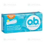 Picture of O.B. PRO COMFORT SUPER, tamponai, 16 vnt.