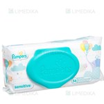 Picture of PAMPERS SENSITIVE, servetėlės, 56 vnt.
