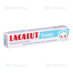 Picture of LACALUT BASIC, dantų pasta, 75 ml