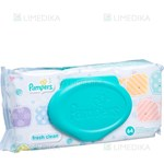 Picture of PAMPERS BABY FRESH WIPES, servetėlės maišelyje, 64 vnt.