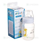 Picture of PHILIPS AVENT buteliukas ANTI-COLIC, žirafa, SCF821/12, 260 ml