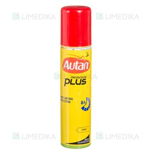 Picture of AUTAN PROTECTION PLUS SPRAY, repelentas, aerozolis, 100 ml