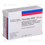 Picture of THROMBO ASS, 100 mg, skrandyje neirios tabletės, N100