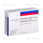 Picture of THROMBO ASS, 50 mg, skrandyje neirios tabletės, N100