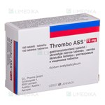 Picture of THROMBO ASS, 75 mg, skrandyje neirios tabletės, N100