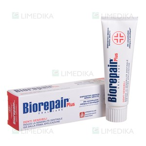 Picture of BIOREPAIR PLUS JAUTRUMO KONTROLĖ, dantų pasta, 75 ml