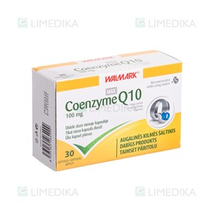 Picture of WALMARK COENZYME Q10, 100 mg, 30 kapsulių